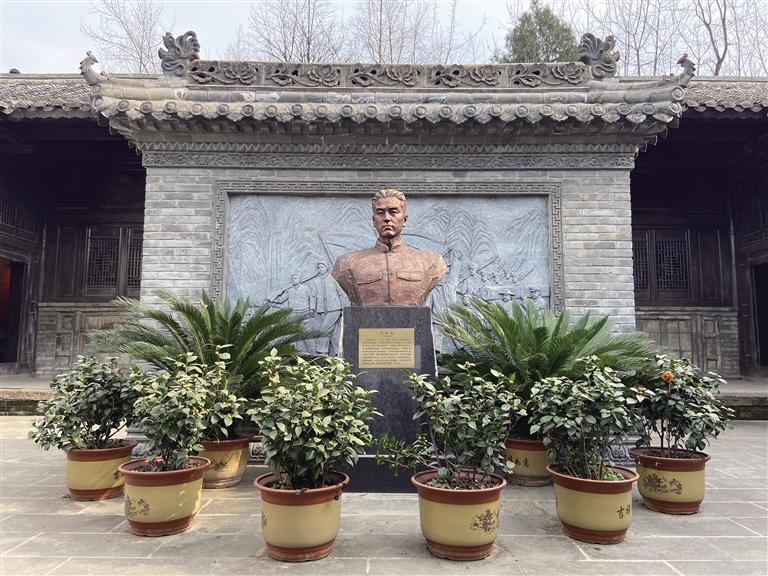 三秦大地上的红色印记   革命先驱何挺颖家乡南郑